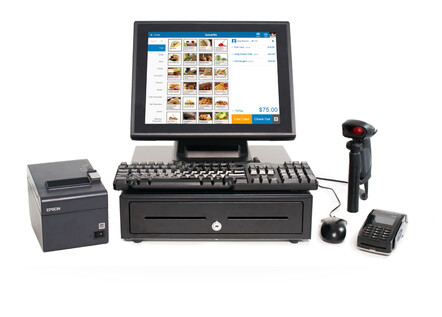 All your POS hardware - Windows touch screens, bar code scanners and more